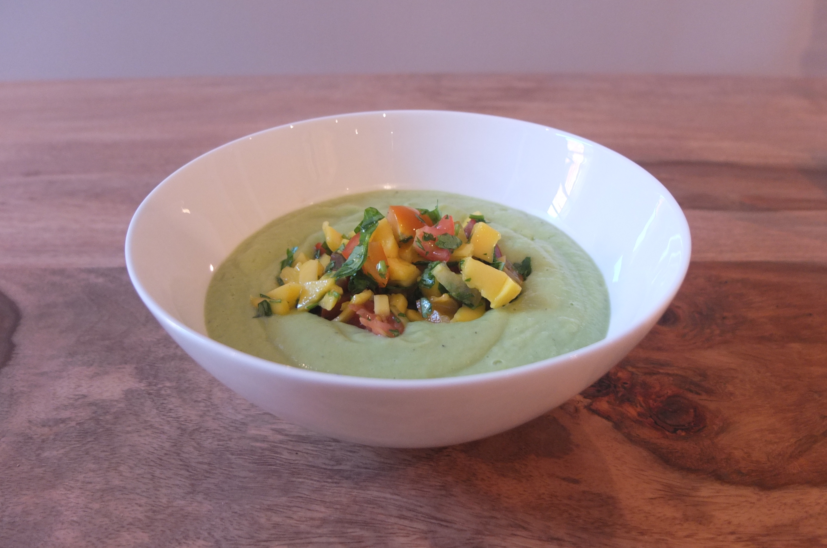 and yogurt soup with mango and fresh herbs recipe cold recipe cold ...
