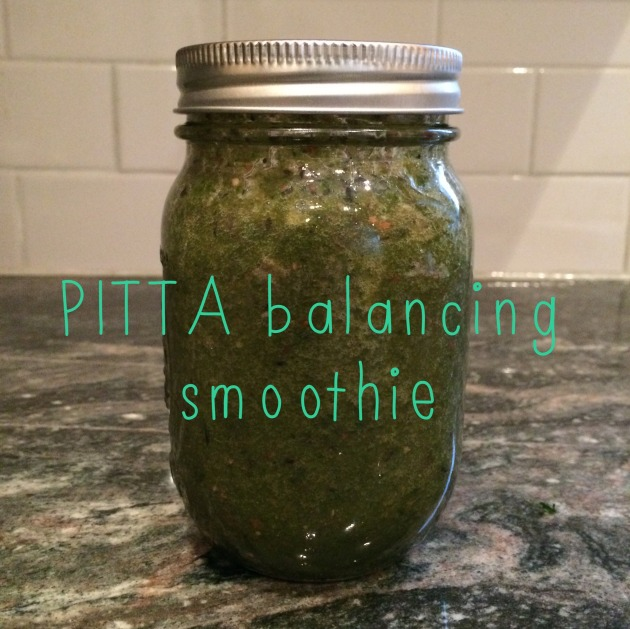 pitta balancing smoothie