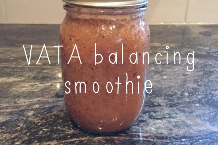 vata balancing smoothie
